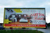 Tlač billboardu na banner