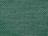Tmavo zelená PVC sieťovina