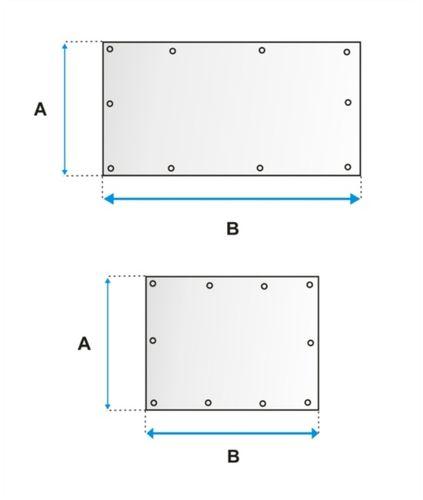 Plachty štvorcové / obdĺžnikové