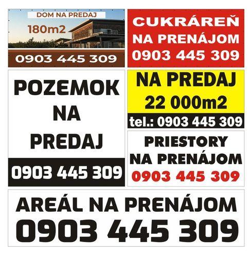 Reklamný banner dom na predaj