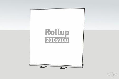 Rollup štandard 200 x 200